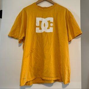 DC | Yellow Graphic Tee Shirt